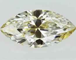 0.18 cts , Sparkling Rare Dual Tone Marquise Brilliant Diamond , VS clarity