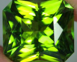 5.48 CT 11X10 MM Pistachio Green Tourmaline Precision Cut-TSA20