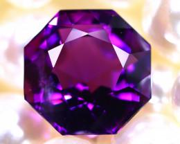 Amethyst 13.46Ct Natural Uruguay Electric Purple Amethyst  DR565/C4