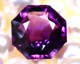 Amethyst 13.17Ct Natural Uruguay Electric Purple Amethyst DR567/C4