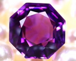 Amethyst  16.22Ct Natural Uruguay Electric Purple Amethyst  DR568/C4