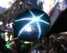 Star Sapphire 7.33Ct Natural 6 Rays Blue Star Sapphire DR571/A39