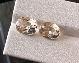 7.05 carats, Natural Topaz.