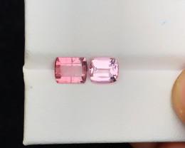 2.60 Ct Natural Pink Transparent Tourmaline Gemstones Parcels