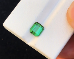 1.50 Ct Natural Green Transparent Tourmaline Gemstone
