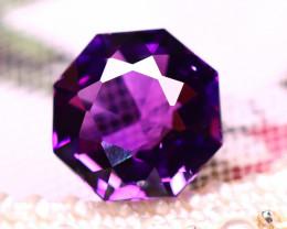 Amethyst 10.70Ct Natural Uruguay Electric Purple Amethyst ER513/C4
