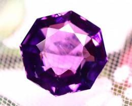 Amethyst 15.87Ct Natural Uruguay Electric Purple Amethyst ER515/C4