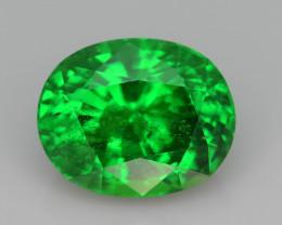 AAA Grade 4.65 ct Forest Green Tsavorite Garnet-K
