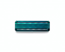 GRS Certified 75.12 Cts Beautiful Natural Indicolite Teal Blue Tourmaline