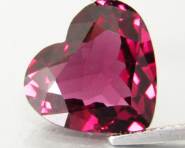 5.55Cts Genuine Natural Unheated Rhodolite Garnet Heart Shape Loose Gem
