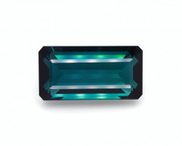 GRS Certified111.67 Cts Beautiful Natural Indicolite Teal Blue Tourmaline
