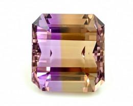 19.15 Cts  ATTRACTIVE   FALWLESS BOLIVIAN  AMETRINE Fancy cut   Gemstone