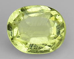 0.52Ct Rare Orthoclase Yellow Color Good Luster OR13