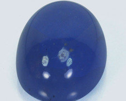 12.26 Cts Natural Lavender Chalcedony Oval Cabochon Peru