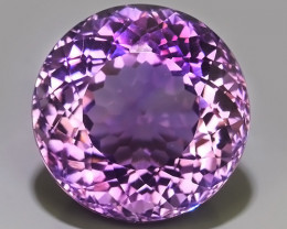 40.35 Cts Natural Purple Amethyst Exquisit round Cut Glister