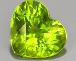 2.40 Cts High Best Natural Apple Green Pakistan Peridot~