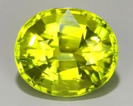 2.60 cts beautiful wow green tourmailne oval shape mozambiqe
