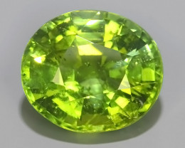 3.10 CTS AMAZING NATURAL RARE LUSTROUS GREEN TOURMALINE