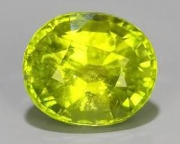 2.45 cts beautiful wow green tourmailne oval shape mozambiqe