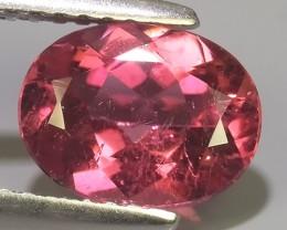 1.60 cts beautiful wow pink tourmailne oval shape mozambiqe