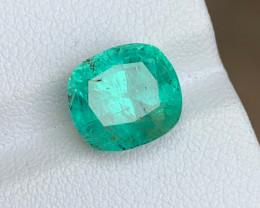 4.08 Carats Natural Panjshir Emerald