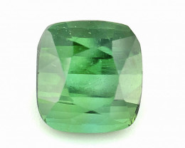 ~NR~1.995(ct)Mint Green Color Congo Tourmaline Faceted Gem