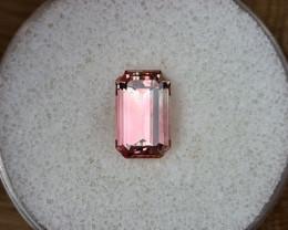 2,45ct soft pink Tourmaline - Master cut!