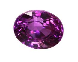 0.53cts Natural Sri Lankan Pink Sapphire  Oval Shape