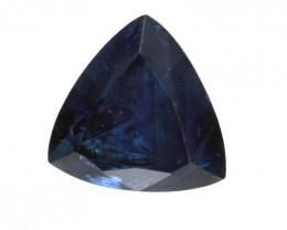 0.97cts Natural Australian Blue Sapphire Trillion  Shape
