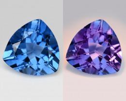 Fluorite 12.17 Cts Color Change Natural Loose Gemstone
