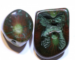 38 CTS TURTLE AGATE DRILLED BEAD  NP-928  NPGEMS