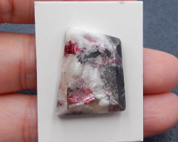 P0641 - 30cts Natural Tourmailine Gemstone Rough Cabochona