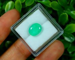 Muzo 2.45Ct Natural Colombian Vivid Green Color Muzo Emerald A1926