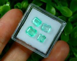 Muzo 2.19Ct Natural Colombian Emerald Neon Green Mint Beryl A1933