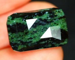 Ruby Zoisite 13.91Ct Master Cut Natural Unheated Ruby Zoisite B2614