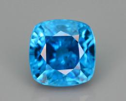 AAA Brilliance 1.70 ct Blue Zircon Cambodia ~ K