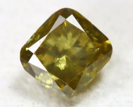 Chanpagne Diamond 0.11Ct Untreated Genuine Fancy Diamond ST548