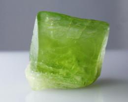 16.90 CTs Natural & Unheated~Green Peridot Crystal