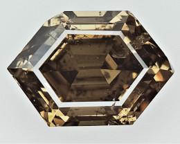 0.89 cts Fancy Colored Diamonds , Fancy Shaped Diamond