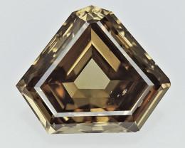 0.76 cts Fancy Colored Diamonds , Fancy Shaped Diamond