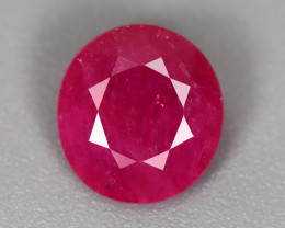 1.97 CT RUBY ONLY HEATED GIL CERTIFIED 100% NATURAL MINE MOZAMBIQUE