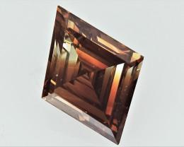 0.35 cts Fancy Colored Diamonds , Fancy Shaped Diamond
