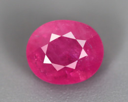 1.89 CT RUBY ONLY HEATED GIL CERTIFIED 100% NATURAL MINE MOZAMBIQUE