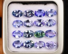 11.59cts Natural Tanzanite Gemstone Lot / AAKL1274