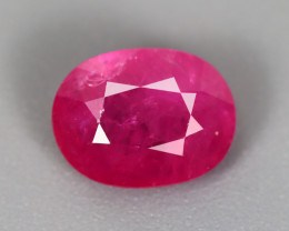 2.40 CT RUBY ONLY HEATED GIL CERTIFIED 100% NATURAL MINE MOZAMBIQUE