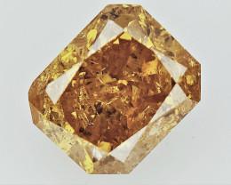 0.70 cts Fancy Colored Diamonds , Fancy Shaped Diamond