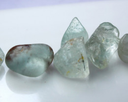 101.70 CTs Natural & Unheated~Blue Topaz Rough Lot