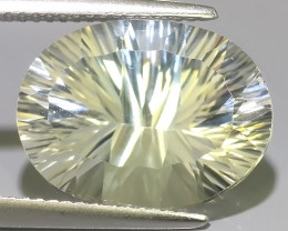 12.10 CTS~EXCELLENT LUSTER CUT NATURAL UNHEATED WHITE TOPAZ