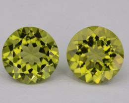 Natural Green Peridot  3.02 Cts, Top Quality Gemstone