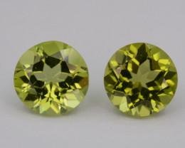 Natural Green Peridot  3.00 Cts, Top Quality Gemstone
